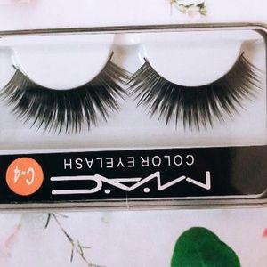100% MINK M.A.C False Lashes Makeup